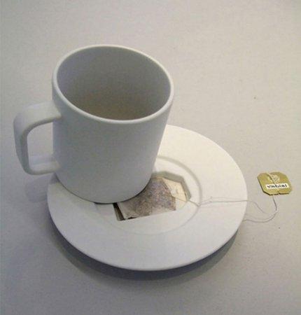 куда деть пакетик от чая?