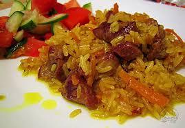 Рисовый плов из свинины