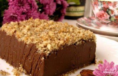 Шоколадные десерты. Торт и попкорн